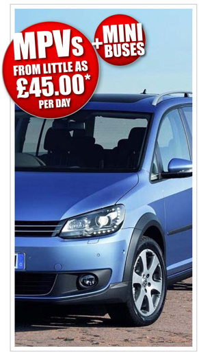 MPV Rental Prices