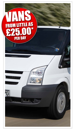 Van Rental Prices